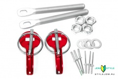 Sparco Hood Pin Red