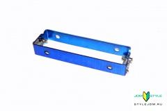 JDM крепление номера (с механизмом фиксации) Blue