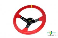 OMP Corsica Superleggero Steering Wheels Red